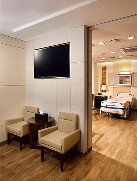 커머셜 TV (병실)