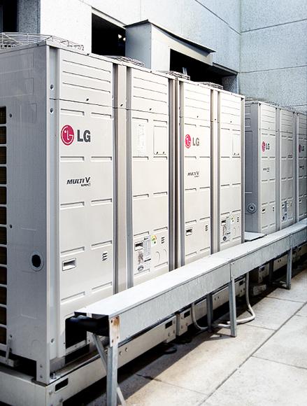 공기열원 히트펌프 Multi V 사진