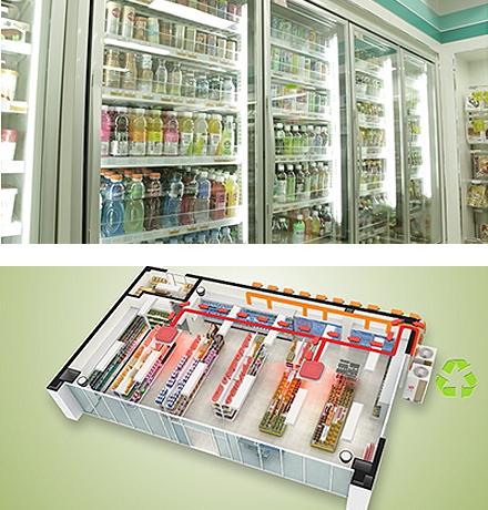공조, 냉장 일원화 시스템
