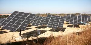 유휴지를 활용한 태양광 발전소