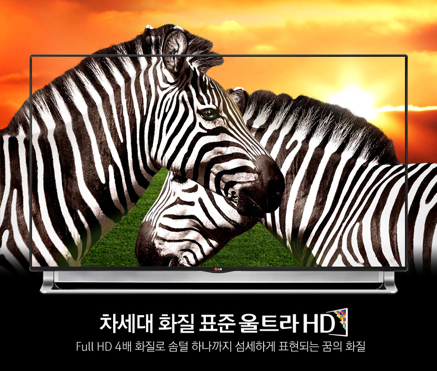 ������ ȭĥ ǥ�� ��Ʈ�� HD Full HD 4�� ȭ��� ���� �ϳ����� �����ϰ� ǥ���Ǵ� ���� ȭ��