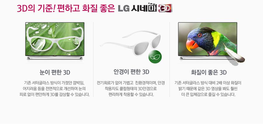 3D�� ����! ���ϰ� ȭ�� ���� LG �ó� 3D