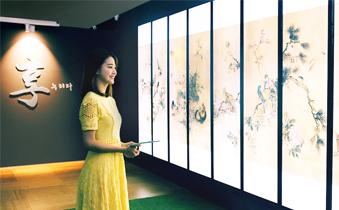 LG 디지털 사이니지, 조선시대 작품을 고스란히 담아내다