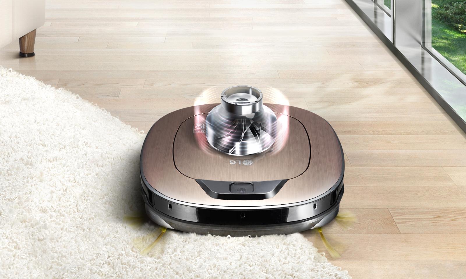 스마트 인버터 모터로 강력한 청소